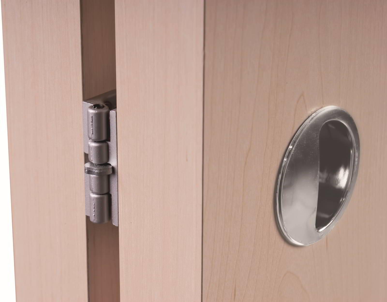 Úchyt skladacích dverí