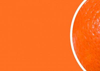 Sklo 2004 mandarinka