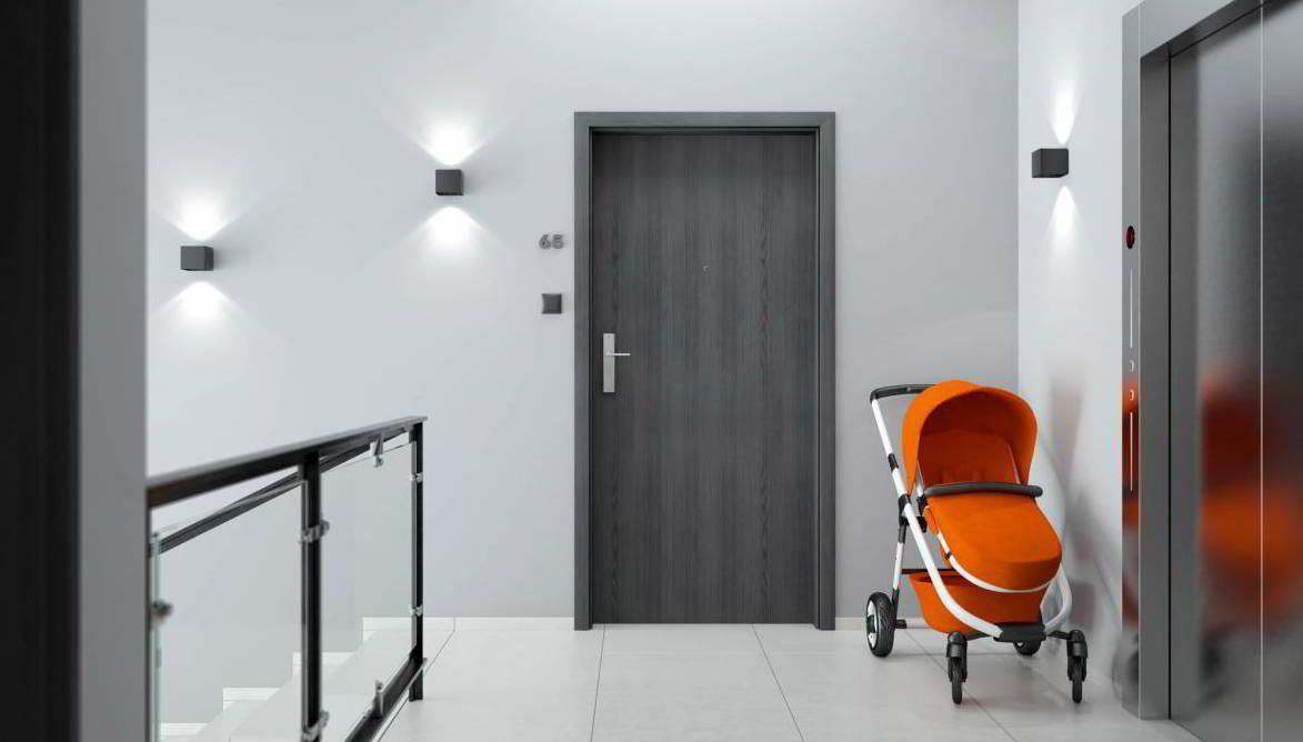 Inštalácia vchodových dverí do bytu